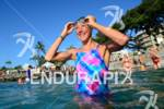 Chrissie Wellington during her swim training, she will be a…