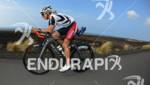 Sonja Tajsich during her pre-race bike training of the 2012…