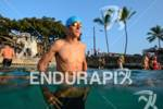 Andreas Raelert before a swim workout in the morning some…