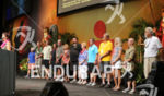 Event directors and Diana Bertsch at the Ironman World Championship…