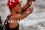 Linsey Corbin gets loose prior to the start of the…