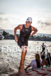 MIKE AIGROZ exits swim at the Ironman World Championship in…