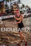 Dr. Amanda Stevens exits water at the Ironman World Championship…