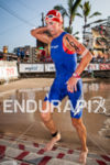 Meredith Kessler exits water at the Ironman World Championship in…