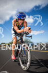 Michael Lavato bikes  up to Hawi at the Ironman World…