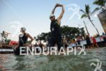 Faris Al-Sultan before the swim at the Ironman World Championship…