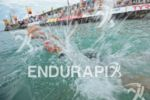 Mirinda Carfrae before the swim at the Ironman World Championship…