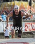 """""""Andy Potts, USA"""" is first out of the water at…"""