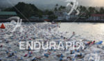Swim start of the Ironman World Championship in Kailua-Kona, Hawaii…