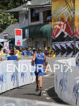 Runner leaving transition area at the Ironman World Championship in…