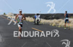 Pete Jacobs in the lead meets Sebastian Kienle in second…