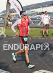 Trevor Wurtele near the finish of the Ironman World Championship…