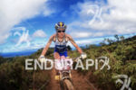 Danelle Kabush on bike at the 2012 XTERRA World Championship…