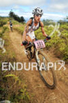 Lesley Paterson on bike looking strong at the 2012 XTERRA…