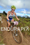 Suzie Snyder  rides her Orbea bike at the 2012 XTERRA…