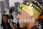 Pro Santiago Ascenco happy prior to the Ironman 70.3 Miami…