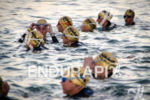 Females pros race start at the Ironman 70.3 Miami in…