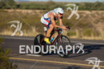 ANDREW STARYKOWICZ riding strong on the bike at the 2012…