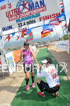 Ultraman 2012 marriage proposal at finish line at the 28th…