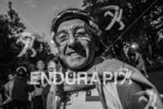 Ageded age grouper athlete prior to race start at the…