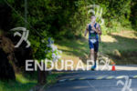 Brazilian pro Guilherme Manocchio, former champion, runnng at the Ironman…