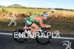 Meredith Kessler cycles through the hills of Taupo, 2013 Ironman…