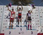 Women's Podium at the 2013 Abu Dhabi International Triathlon, March…