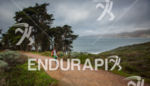 Pete Jacobs on run heading toward Baker Beach at the…