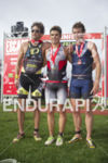 Javier Gomez, Graham O'Grady and Jesse Thomas take first, second…