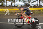 AJ Baucco, USA, at the 2013 Ironman San Juan 70.3…