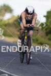 Svenja Bazlen, DEU, rolls into 2nd at the 2013 Ironman…