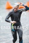 Heather Jackson, USA, on the swim at the 2013 Ironman…