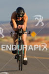 Laura Bennett on bike at the 2013 Ironman 70.3 St.…
