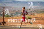 Brent McMahon on run at the  Ironman 70.3 St. George…