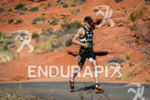 Andy Potts on run at the  Ironman 70.3 St. George…