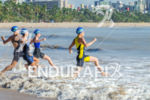 Female race start at  at 2013 Joao Pessoa ITU Triathlon…
