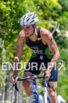 Young triathlete Bruno Matheus faces the climb  at 2013 Joao…
