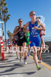Annamaria Mazzetti (ITL) runs at the 2013 ITU World Triathlon…