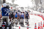 Pro men's peloton all together again at the 2013 ITU…