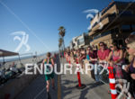 Crowds line the beach during the elite men's race at…