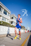 Alistair Brownlee (GBR) out in front on the run at…