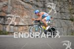 Andreas Raelert on the bike at the Thomas Cook Ironman…