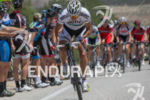 Philipe Gilbert pursues a breakaway attempt during stage three of…