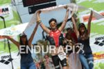 Miquel Blanchart at the finish of the 2013 Ironman Lanzarote…