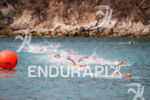 Elite Men swim at the 2013 Huatulco ITU Triathlon World…