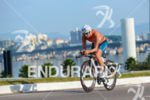 Mirjan Weerd (NDL) riding fast at 2013 Ironman Brazil in…
