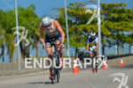 Legend Ken Glah riding his bike at 2013 Ironman Brazil…