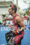 Timothy O'Donnell wins the race at 2013 Ironman Brazil in…