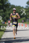 Craig Alexander on  the run at the 2013 Ironman 70.3…