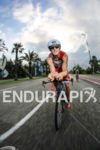 Age Group athlete at the start of the bike leg…